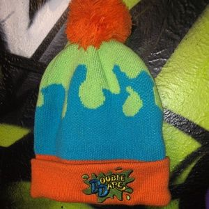 Retro Nickelodeon Double Dare Beanie